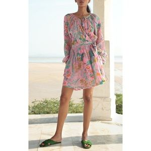 Banjanan Bazaar Wrap Mini Dress